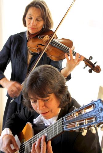 Duo 10 Saiten Francesca Rappay und Gabriele Prediger